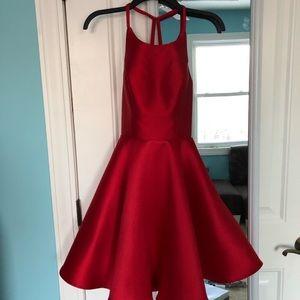 Adorable red formal dress